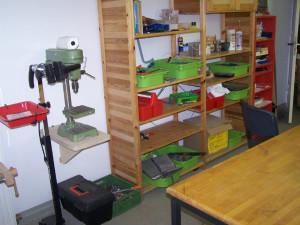 Holzwerkstatt in der Schule